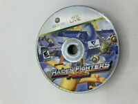 Microsoft Xbox 360 Disc Only Tested Raiden Fighters Aces Ships Fast