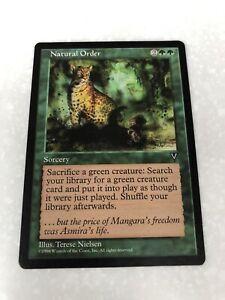 MTG 1 X Natural Order From Visions