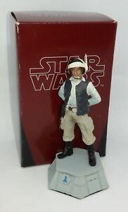 Star Wars De Agostini Echecs Rebel Soldier Verre Rotor Coke Blanc 1/24 Figurine