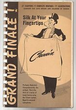 GRAND FINALE! Silks at Your Fingertips by Jack Chanin 1952 Signed