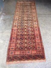 COLLECTORS' PIECE Antique Very High Quality Turkmenistan Akhal Pattern Tekke Rug