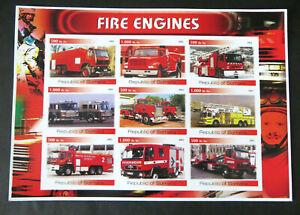 "Somalia 2002, ""Feuerwehr"", dekorativer Block (P1639)"