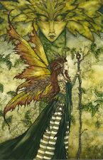 Amy Brown Fairy Faery Large Card Greenwoman Green Woman Forest Mother Gaia New