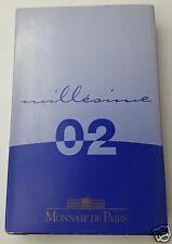 FRANCE PROOF BE COFFRET BELLE EPREUVE 2€ à 1ct 2002
