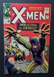 X-MEN #14 • 1ST SENTINELS • FINE OR BETTER++