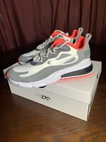 🔥NEW Nike Air Max 270 React Size 11.5 Running Shoes CT1264 100 White Red