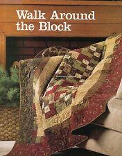 Walk Around The Block Quilt Pattern Pieced CK
