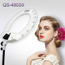 Yidoblo Upgraded QS-480SII LED Photography Ring Light Dimmable Lamp For Makeup