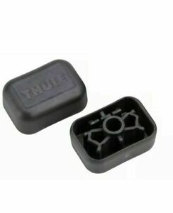 Thule Roof Bar End Caps For New Style Steel Square Bars Pack 4