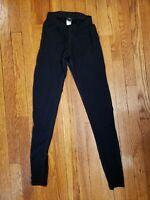Patagonia Performance Base Layer Wool Leggings Black Xs