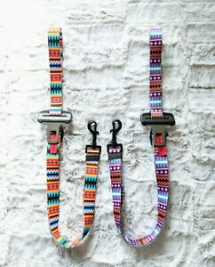 Handmade Dog Seat Belt Converts Into Leash Critter Harmony Reclaimed Buckle