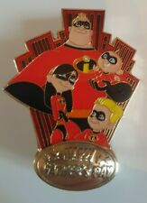 Pin's Disney LES INDESTRUCTIBLES THE INCREDIBLES WDI 250