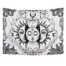 Hippie Art Mandala Sun Tapestry New Room Wall Hanging Pscychedlic Throw Tapestry