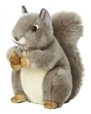 "Aurora World Miyoni Grey Squirrel 8"" Plush 10 inches,"