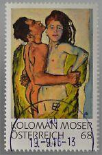 Österreich 2016 Nr. 3283 Moderne Kunst Koloman Moser Liebespaar Gemälde Kunst