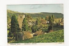 Swaledale Grinton 1989 Postcard 483a