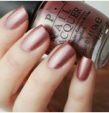 OPI Nail Polish CHICAGO CHAMPAGNE TOAST + Gift Classic Mauve Taupe Shimmer Pearl