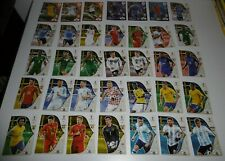 75 cartes / images panini coupe du monde russie 2018 Adrenalyn (Russia football)