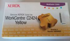 Original Xerox 108r00662 SOLID INK WorkCentre c2424 YELLOW jaune neuf dans sa boîte a