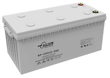 Neuton Power NP-UPS12-200 12V 200Ah/10Hr VRLA AGM Battery - 6 months WARRANTY