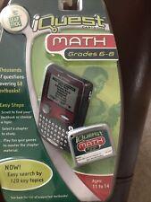 Leapfrog Quantum Leap Iquest Math Cartridges For Grade 6-8 New