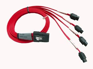 "AYA 19"" (19-Inch) SATA (Serial ATA) to Mini SAS SFF-8087 Reverse Breakout Cable"