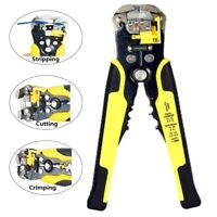 NEW Automatic Adjustable Wire Cable Crimper Crimping Cutter Tool Stripper