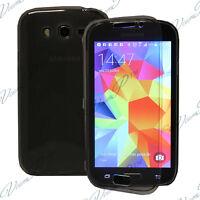 Etui Coque Portefeuille Livre GRIS Samsung Galaxy Grand Plus/ Neo/ Lite I9060