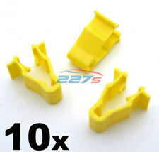 10x Honda Civic, CRV & HRV Yellow Wheel Arch Trim Clips- Snap Fit  90601-SMG-003