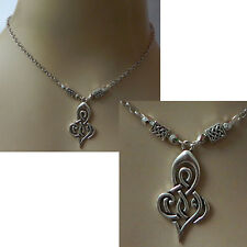 Celtic Necklace Silver Infinity Knot Jewelry Handmade NEW Fashion Women Chain