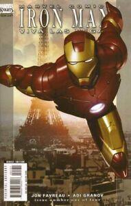 Iron Man Viva Las Vegas #1 Comic 2008 - Marvel Comics 2nd Print - Avengers