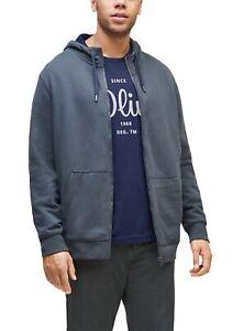 s.Oliver RED LABEL Men big sizes Jerseyshirt mit Label-Print Neu