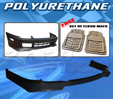 FOR HONDA PRELUDE 97-01 T-RA FRONT BUMPER LIP + DICKIES FLOOR MAT TAN