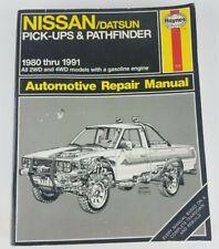 Haynes Manual 771 Nissan Datsun Pick-Ups & Pathfinder 1980-1991 ~ Repair Trucks