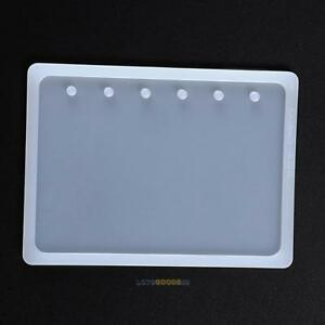 Crystal Silicone Mold Resin DIY Mould for Notebook Book Cover Molds Making Craft