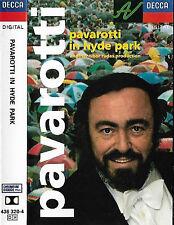 PAVAROTTI IN HYDE PARK CASSETTE ALBUM LUCIANO PAVAROTTI DIGITAL