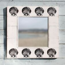 Scallop Shell Mirror | Seaside Coastal Mirror