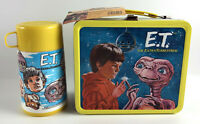 Vintage E.T. The Extra Terrestrial 1982 Metal Lunchbox w/Thermos Aladdin ET