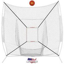 Baseball Softball Practice Training Aid Strike Zone 7x7 Bow Frame W/Bag