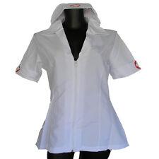 Sexy Nurse Costume/Fancy Dress/Fantasy Sz 10 Zippered Front UNIFORM Cotton Blend