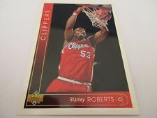 Carte NBA UPPER DECK 1993-94 FR #66 Stanley Roberts Los Angeles Clippers