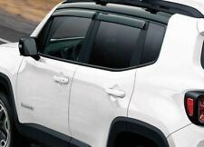 New Genuine Jeep Renegade Tinted Weather Shield Set (82214056)