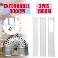 3x Fensteradapter Fensterabdichtung Abluftschlauch Mobil Klimaanlagen  *