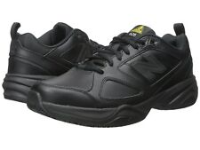 NEW Mens New Balance 626v2 Black Leather Safety Work Shoes AUTHENTIC IN BOX