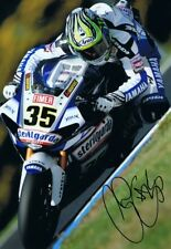 Cal Crutchlow - 2010 World Superbike Championship Autographed 18 x 12 Picture.