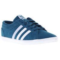 adidas Adria PS 3S W Schuhe Turnschuhe Sneaker Trainers Blau wildleder NEU