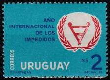 Urugay postfris 1981 MNH 1628 - Jaar van de Gehandicapten (k111)