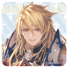Granblue Fantasy Extra Festival 2019 Aglovale Square Character Can Badge Anime