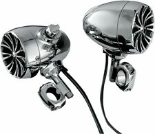 Kuryakyn 834 Bluetooth Sound of Chrome Speaker Kit 1in. Handlebars - Chrome
