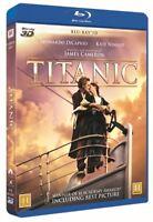 Titanic 3D + 2D Blu ray